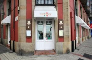 Entrada del restaurante (foto: www.alboccalino.es)