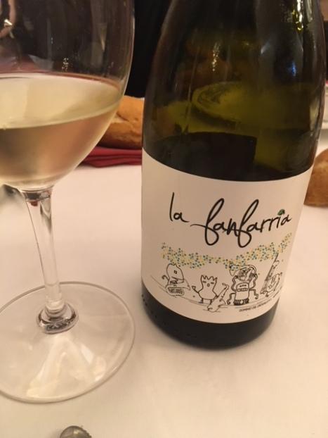 Vino blanco La Fanfarria