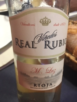 Vino blanco Real Rubio M Luz