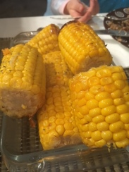 Maiz asado - Roasted corncobs