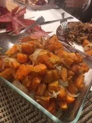 Verduras al horno - Roasted fall vegetables