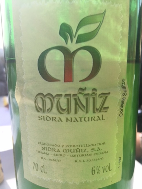 Sidra Natural Muñiz